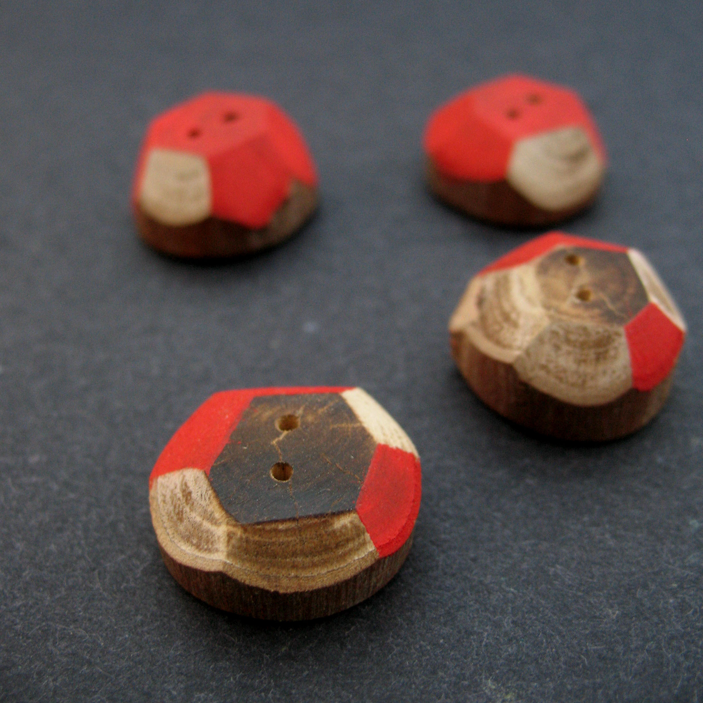 Red FireStix Buttons